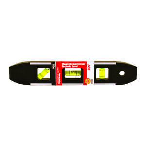 Ace  9 in. Aluminum  Shock-Resistant Torpedo  Level  3