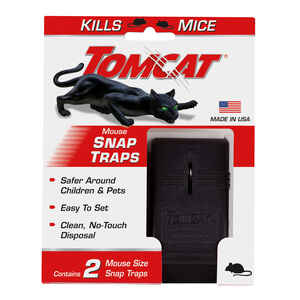 Tomcat  Small  Snap  Animal Trap  For Mice 2 pk