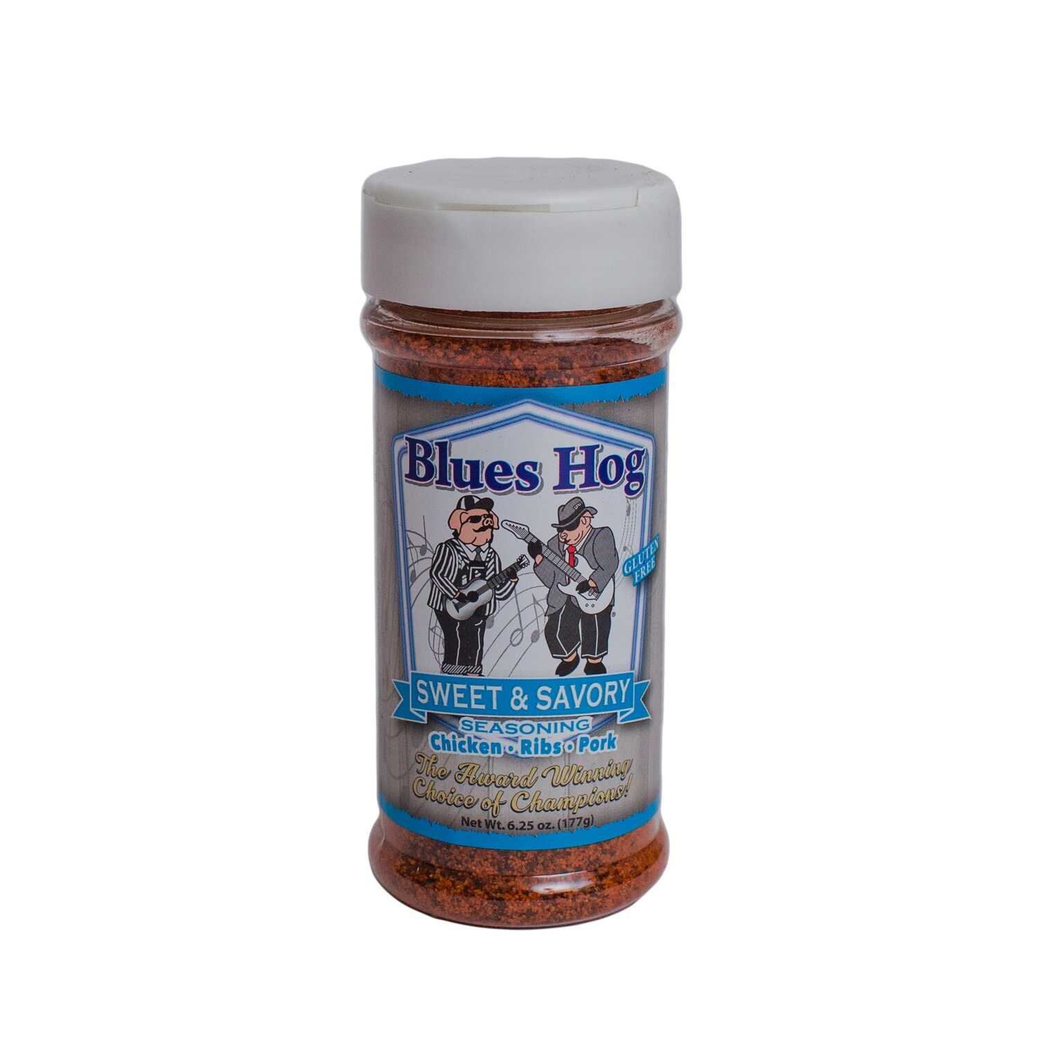 Blues Hog  Sweet & Savory  Seasoning Rub  6.25 oz.