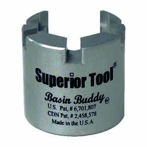 Superior Tool  Basin Nut Wrench  1/2-1/4-3/8