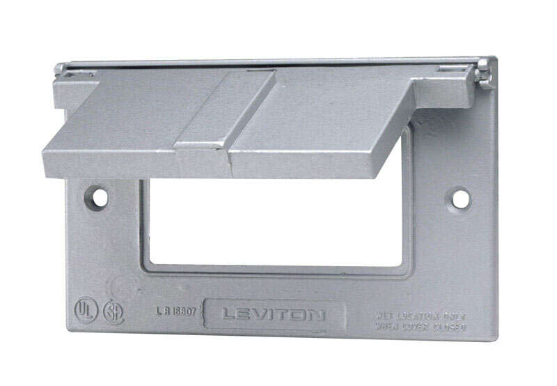 Leviton  Decora  Rectangle  Thermoplastic  1 gang GFCI Cover  For Residential and Light Commercial U