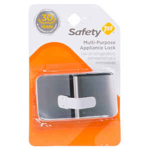 Safety 1st  White  Plastic  Appliance Latch  1
