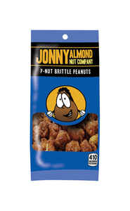 Jonny Almond Nut Company  Heat and Eat  Toffee Coated  Peanuts  2.5 oz. Bagged