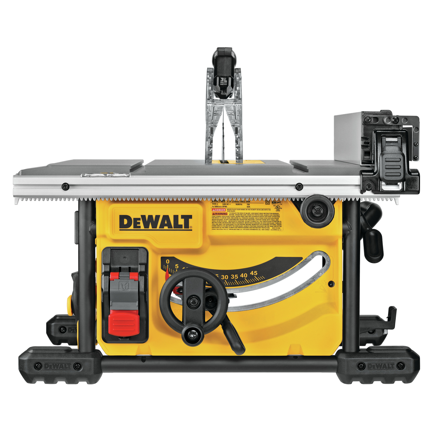 DeWalt Corded Compact Table Saw 15 amps -  DWE7485