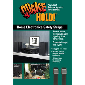 Quake Hold  10 in. to 24 in. 50 lb. capacity Electronic Safety