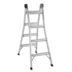 Cosco  12 ft. H x 20.28 in. W Aluminum  2-in-1 Step Ladder and Extension Ladder  Type 1A  300 lb.
