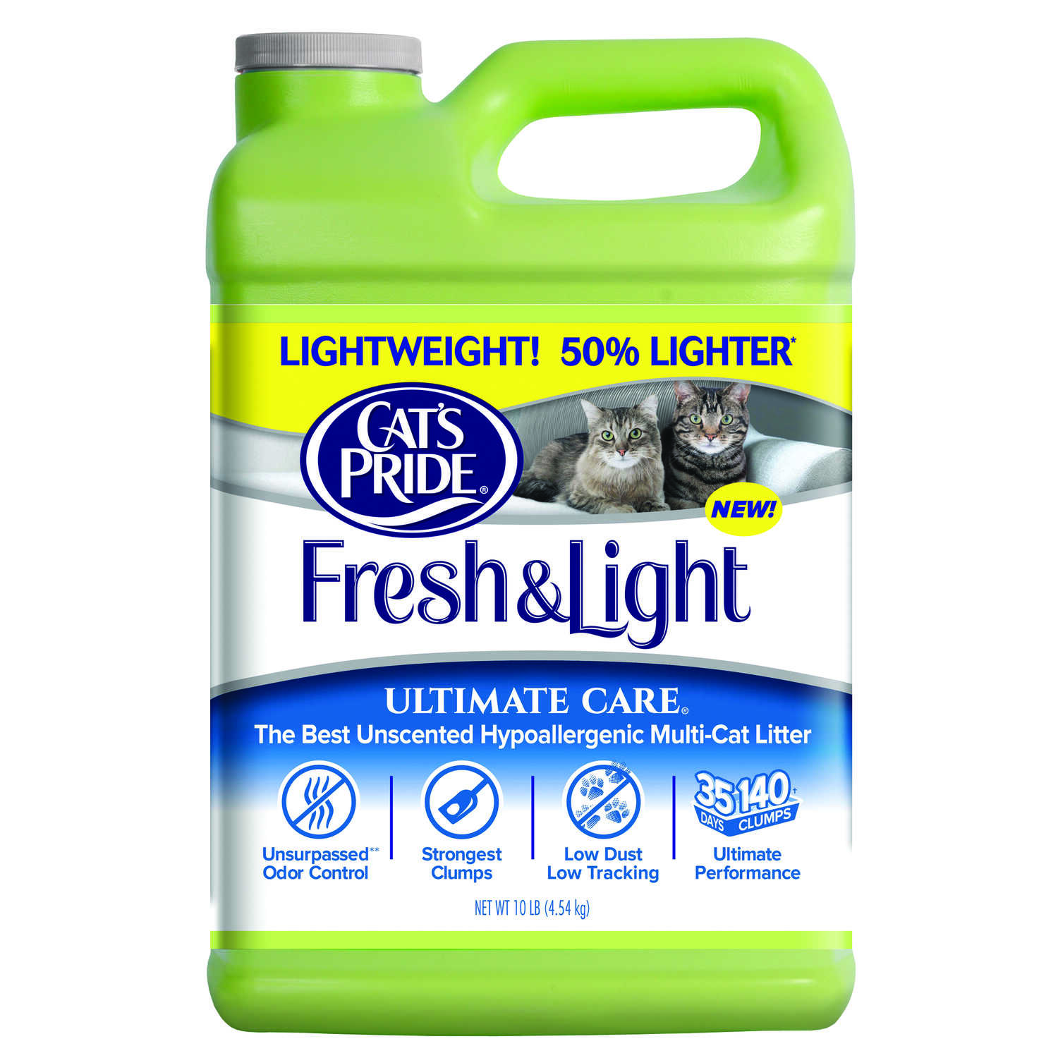 Cat's Pride  Fresh & Light  No Scent Cat Litter  10 lb.