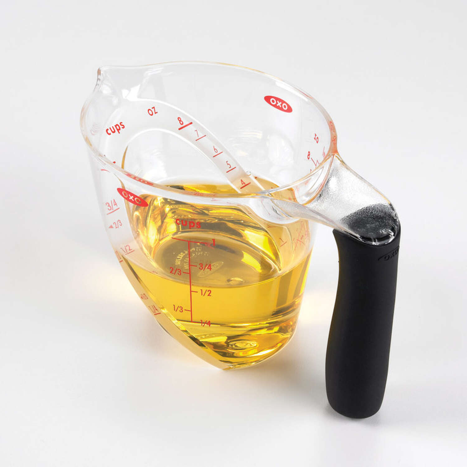 OXO  Good Grips  1  Plastic  Clear  Angled Measuring Cup