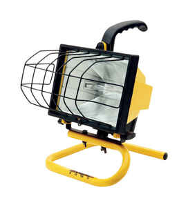 Designers Edge  500 watts Halogen  Portable Work Light
