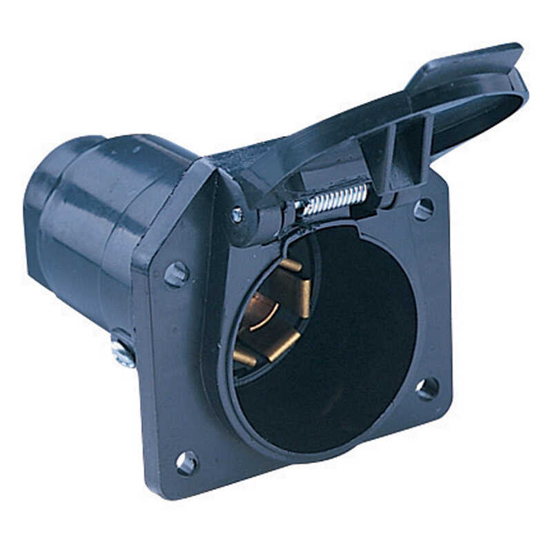 Hopkins  6.9 in. Trailer Connector  6 - 12 volt