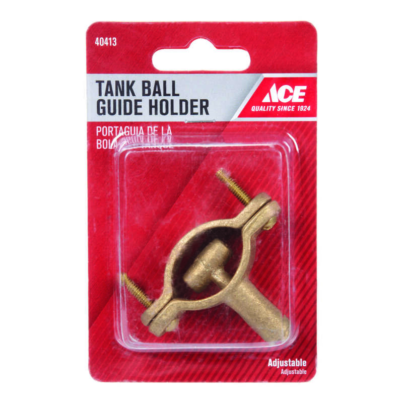 Ace  Toilet Tank Ball Guide Holder  Brass