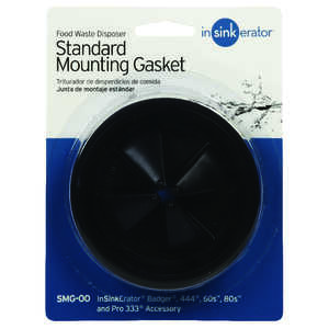 InSinkErator  Garbage Disposal Gasket  N/A hp Black