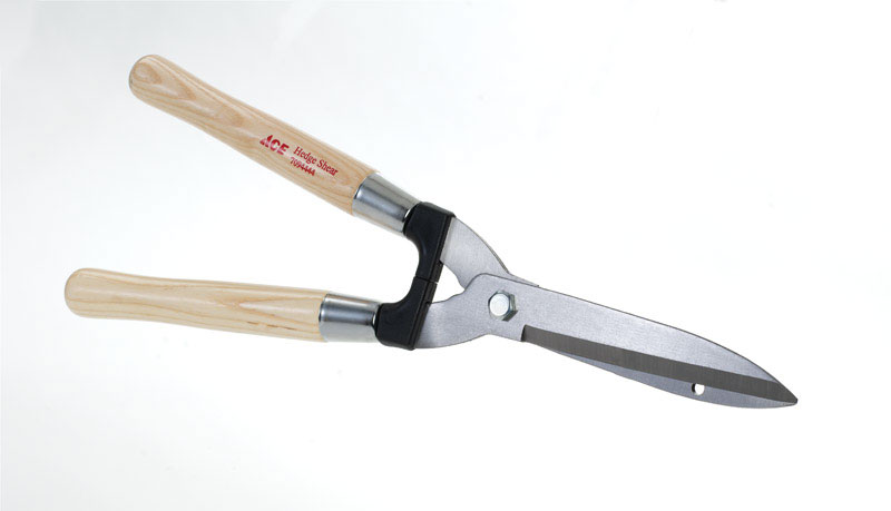 Ace  20-1/2 in. L Steel  Straight Edge  Hedge Shears