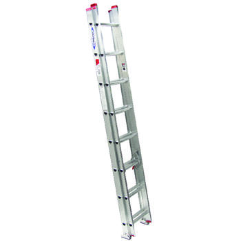 Werner 16 Ft. H X 16 Inch W Aluminum Extension Ladder Type III