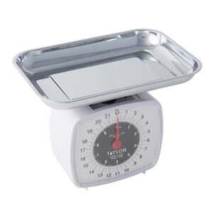 Taylor White Analog Kitchen Scale 22 Lb Ace Hardware