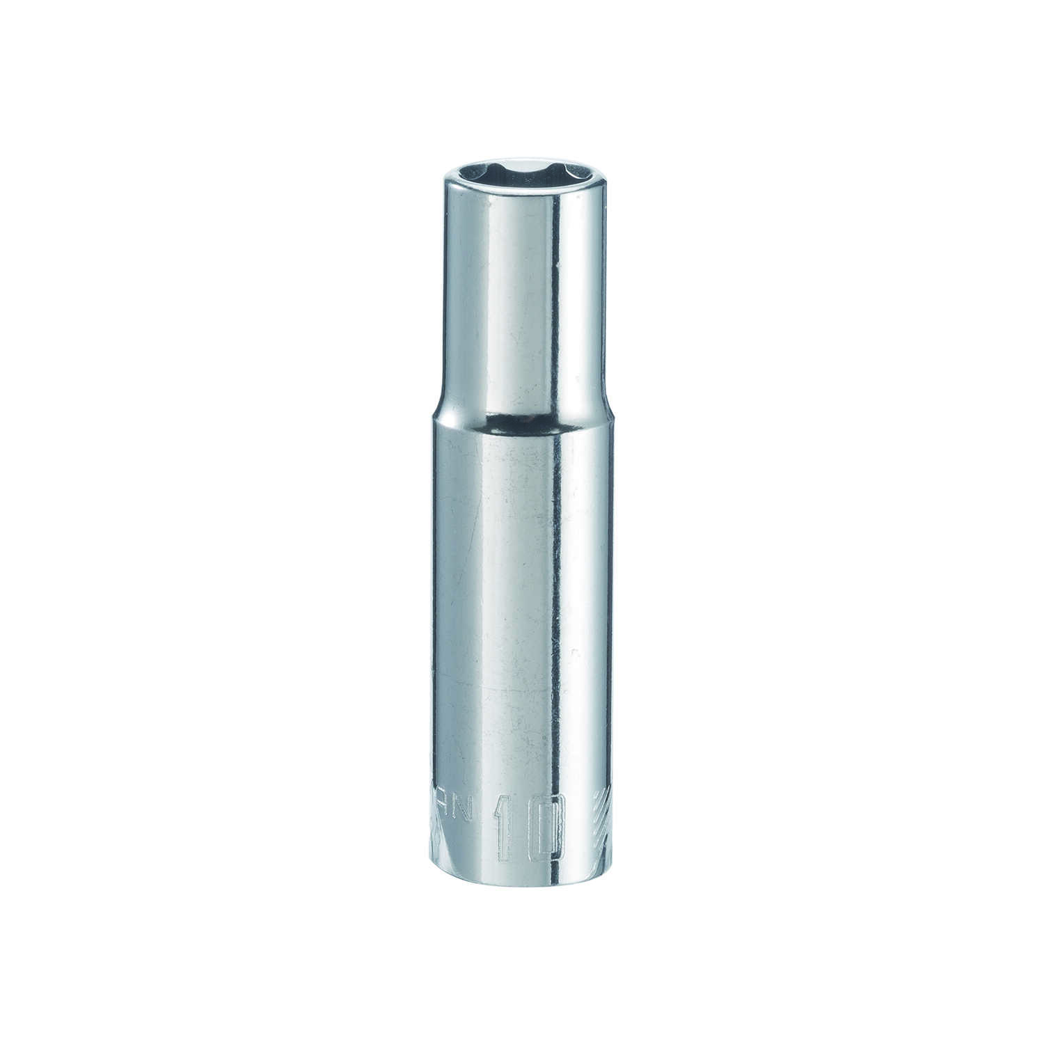 Craftsman  10 mm  x 3/8 in. drive  Metric  6 Point Deep  Socket  1 pc.