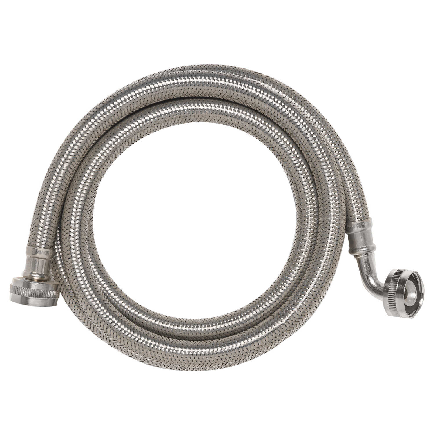 Ace  3/4 in. Stainless Steel  Washing Machine  Supply Line  5 ft.