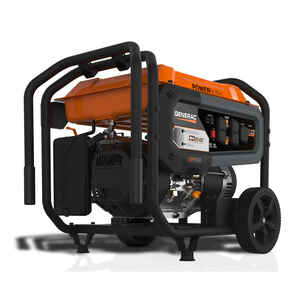 Generac  PowerRush  6500 watts Black  Portable Generator