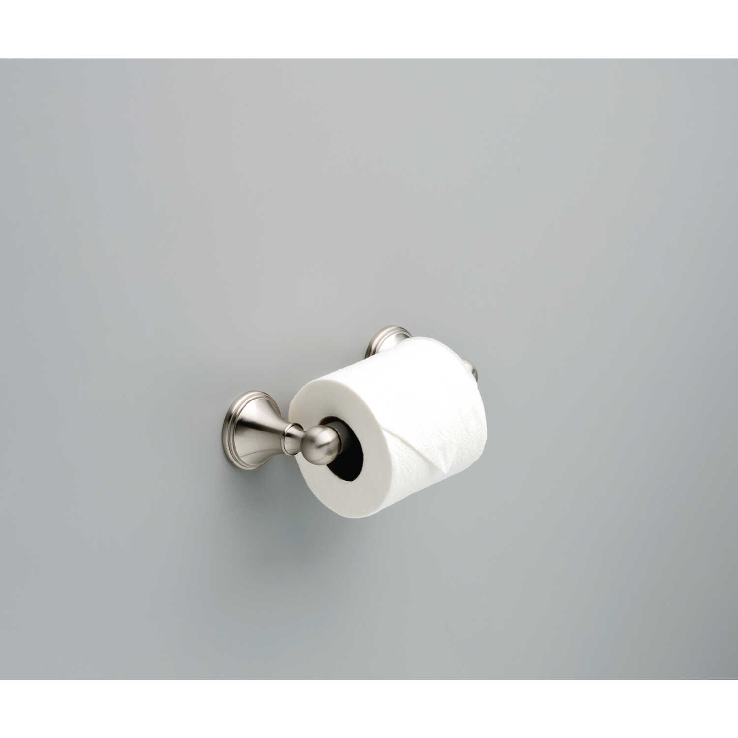 Delta  Crestfield  Satin Nickel  Toilet Paper Holder