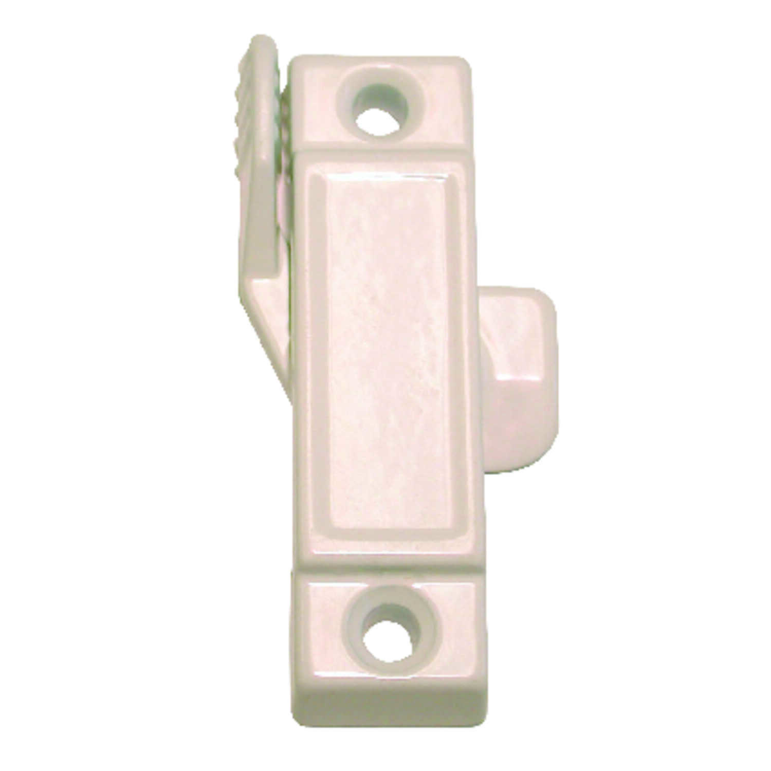 Barton Kramer  White  Die-Cast  Window Latch  25/32 in. W x 2-15/16 in. L 1 pk