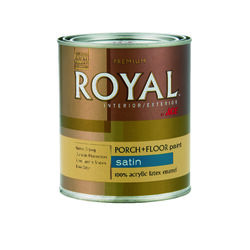 Ace  Royal  Satin  Tint Base  Acrylic Latex  Porch & Patio Floor Paint  1 qt.