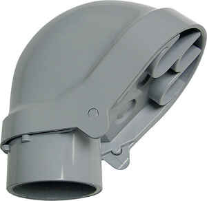 Cantex  3/4 in. Dia. PVC  Service Entrance Head