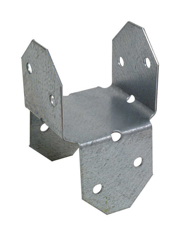 Simpson Strong-Tie  2 in. H x 2 in. W Galvanized Steel  20 Ga. Rigid Tie