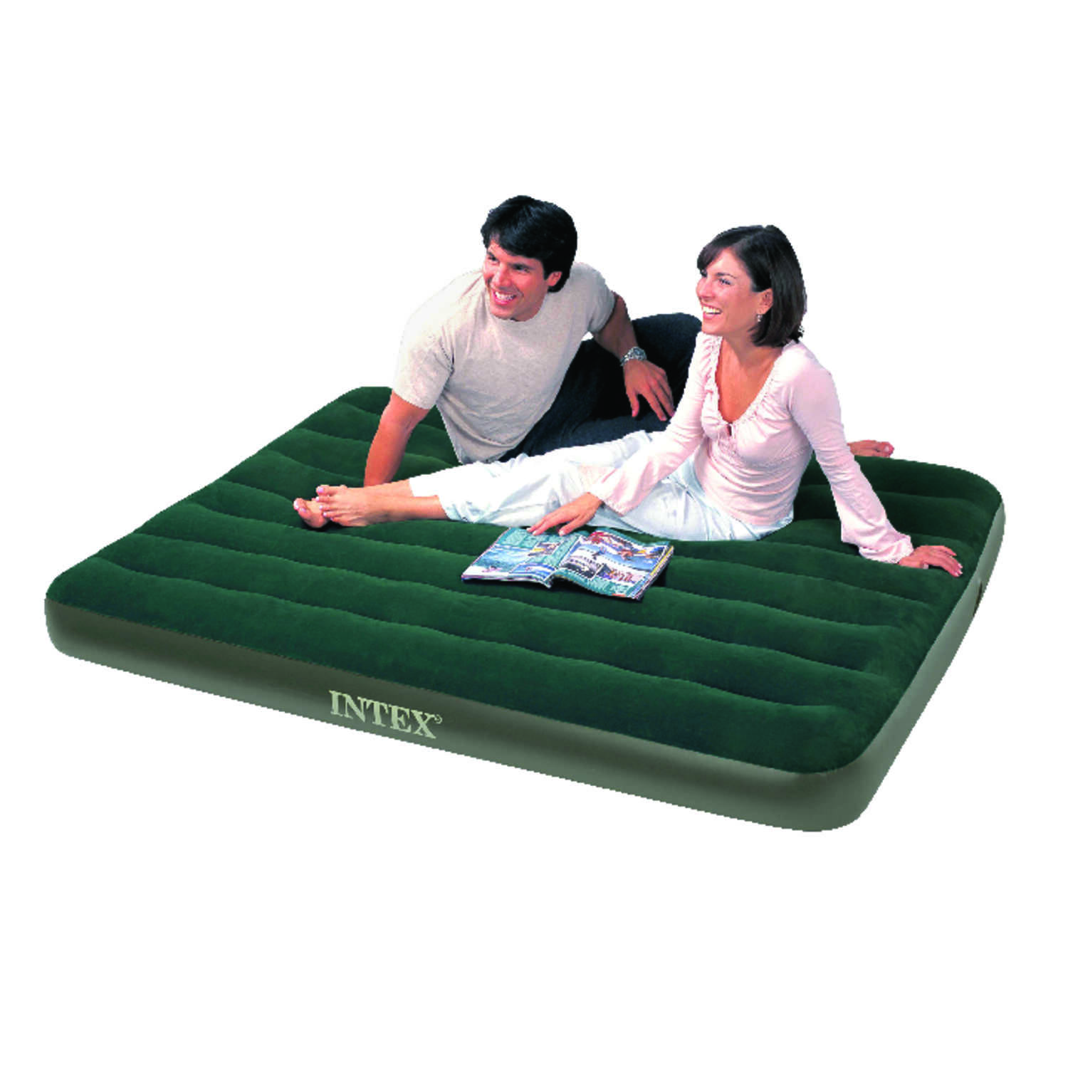 Intex  Air Mattress  Queen  Pump Included