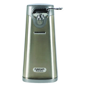 Cuisinart  Gray  Electric Can Opener  Magnetic Lid Holder