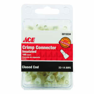 Ace  Closed End Connector  100 pk