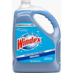 Windex Commercial Line No Scent Glass and Surface Cleaner 1 gal. Liquid