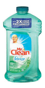 Mr. Clean  With Febreze  Meadows and Rain Scent All Purpose Cleaner  40 oz. Liquid
