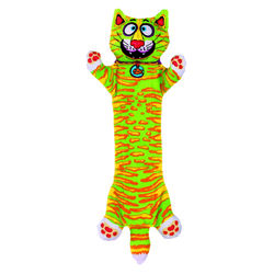 Fat Cat  Multicolored  Assorted Styles  Canvas  Dog Tug Toy  Medium  1