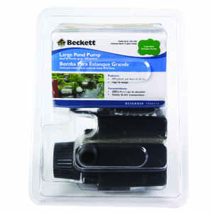 Beckett  115 volt Pond Pump