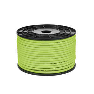 Flexzilla  250 ft. L x 1/4 in. Dia. Hybrid Polymer  Air Hose  300 psi Green