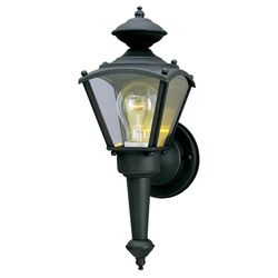 Westinghouse 1-Light Matte Black Wall Sconce