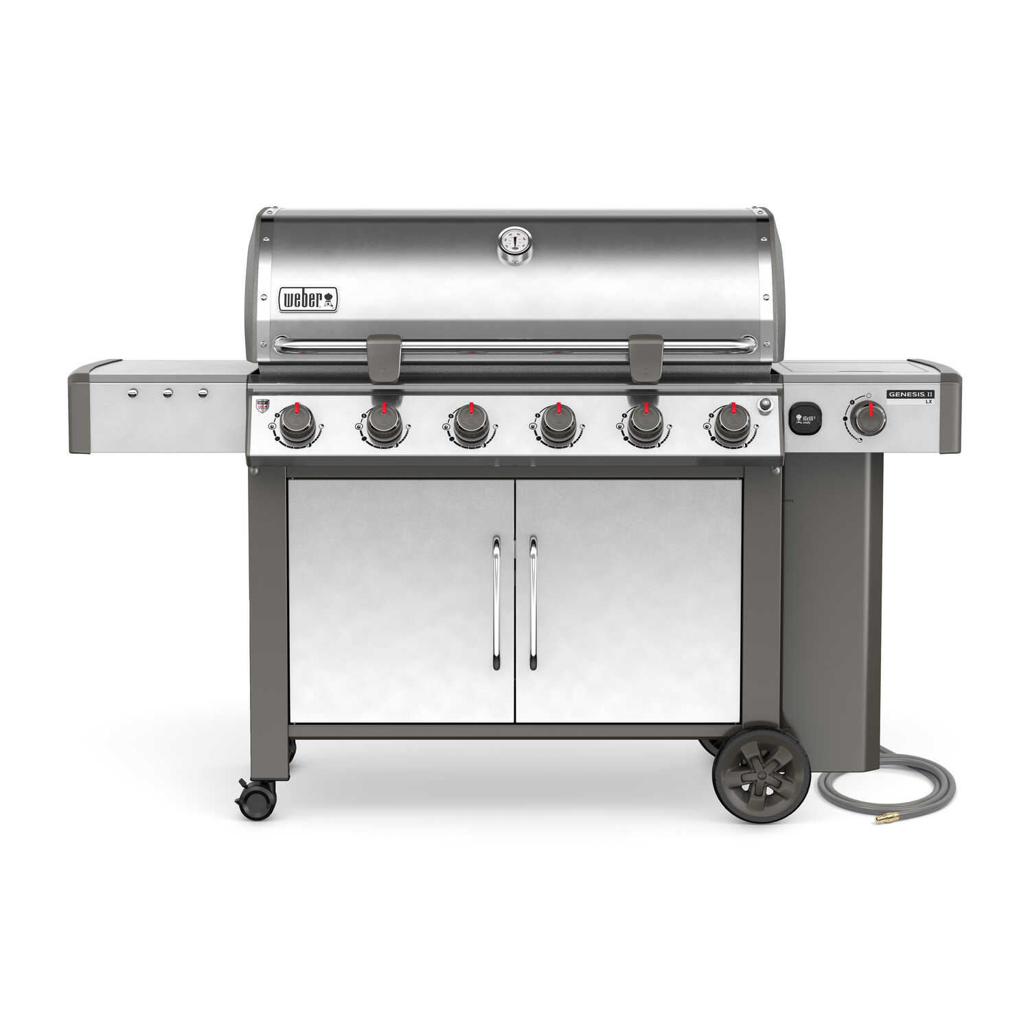 Weber  Genesis II LX S-640  6 burners Natural Gas  Grill  Stainless Steel  72000 BTU
