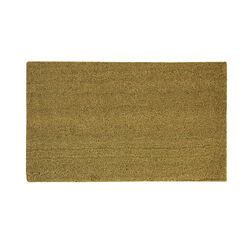Sports Licensing Solutions 36 in. L x 24 in. W Tan Blank Nonslip Door Mat