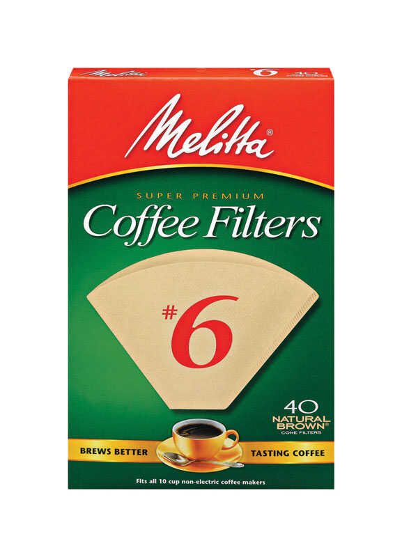 Melitta  10 cups Cone  Coffee Filter  1 pk