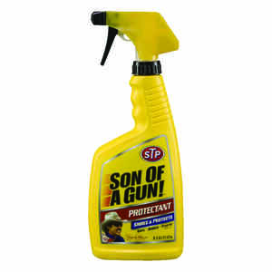 STP  Son of A Gun  Leather  Protectant  16 oz. Bottle