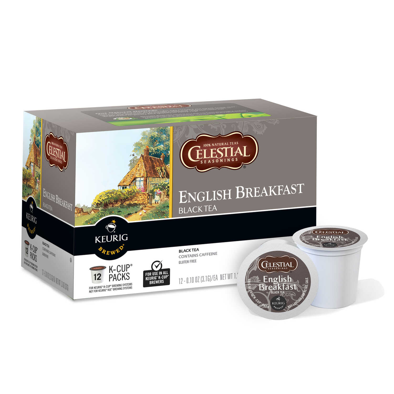 Keurig  Celestial Seasonings  English Breakfast  Tea K-Cups  12 pk