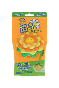 Scrub Daddy  Scrub Daisy  Heavy Duty  Dishwand Scrubber Refill  For Household 1 pk
