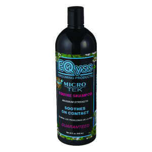 EQyss Micro-Tek  Liquid  Medicated Shampoo  For Horse 32 oz.
