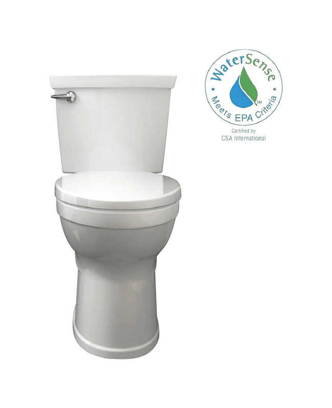 American Standard  Champion 4  Round  Complete Toilet  1.28 gal. ADA Compliant White