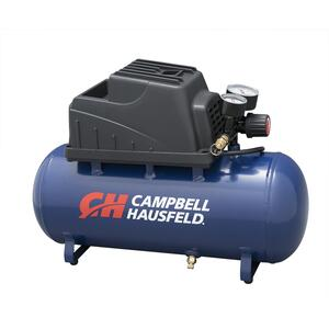 Campbell Hausfeld  3 gal. Portable Air Compressor  110 psi 0.3 hp