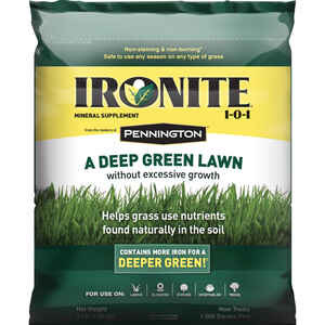 Pennington  Ironite  1-0-1  Mineral Supplement  For All Grass Types 3 lb. 1000 sq. ft.