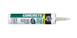 DAP  Gray  Silicone  Concrete and Masonry  Filler and Sealant  10.1 oz.