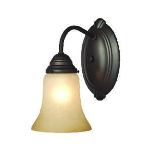 Westinghouse  Oil Rubbed Bronze  1  Wall Sconce