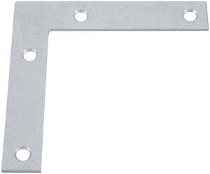 National Hardware  4.7 in. H x .75 in. W x 0.07 in. D Steel  Flat  Corner Brace