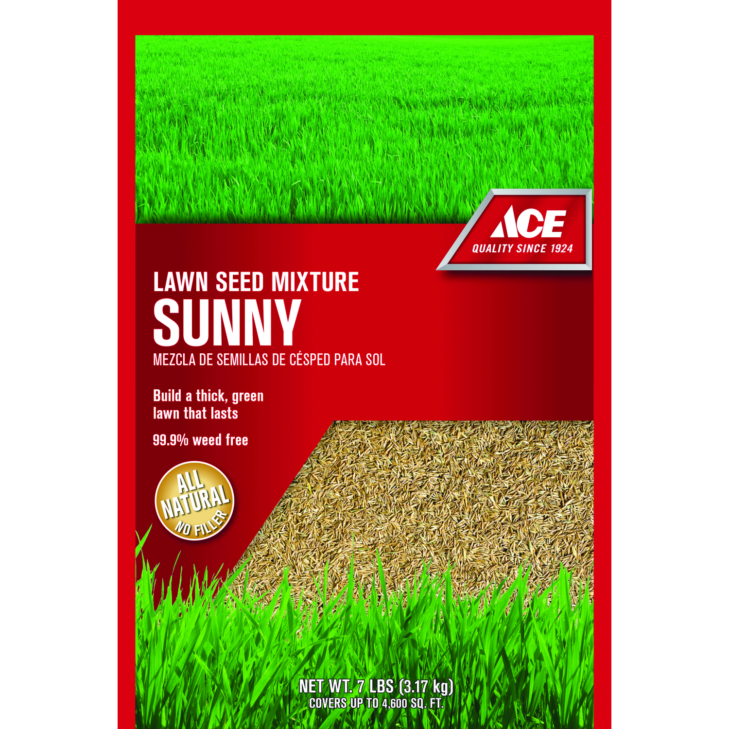 Ace  Sunny  Mixture  Grass Seed  7 lb.